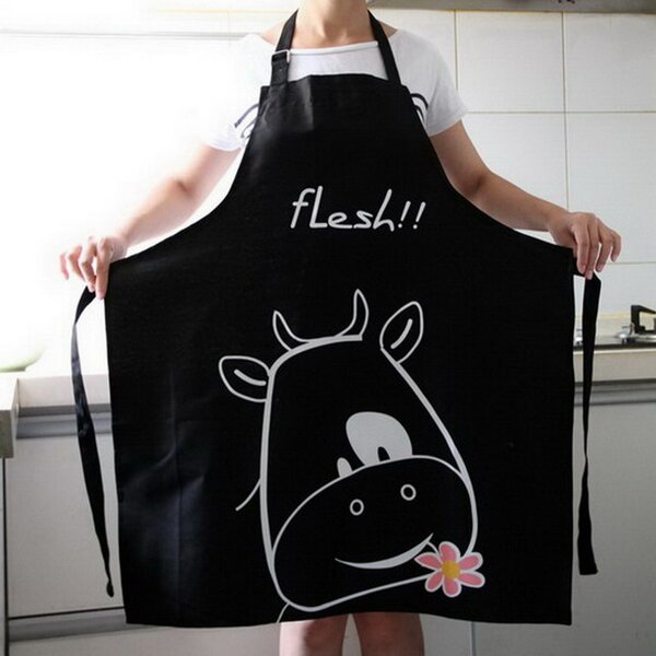100% Cotton Apron by Winston Porter